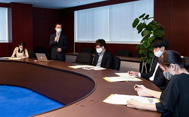 経営計画会議風景