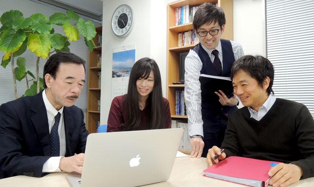 鈴木代表理事とのミーティング風景