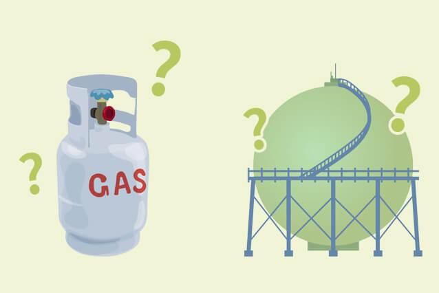 節約前に基礎知識:LPガスと都市ガスの違い
