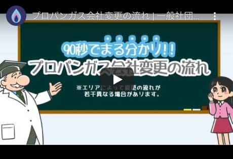 【動画】プロパンガス会社変更の流れ