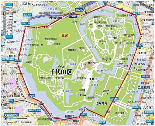 皇居マラソンコース
