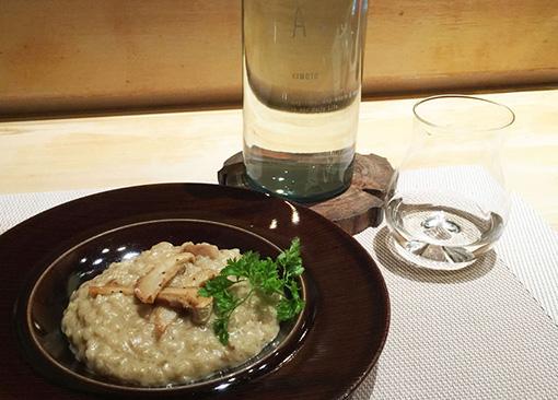 ポルチーニ茸とコシヒカリのリゾット